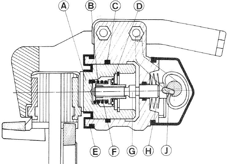 fonctionnement etrier de frein  remplacement injecteur et